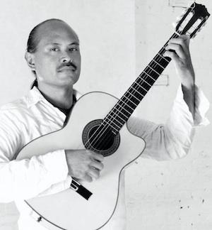 Flamenco guitarist Miguelito. Photo by Seanie Blue