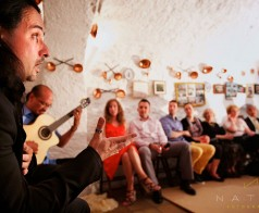 Miguelito's first flamenco gig in Spain...Granada to be exact!