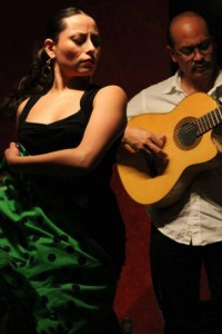 Flamenco dancer Ginette and guitarist Miguelito