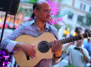 Figure 3. Michael Perez runs the DC Flamenco website.