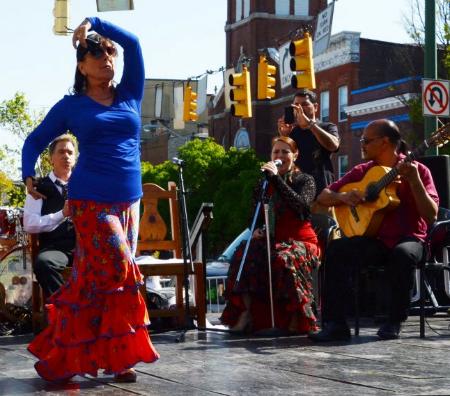 Arte Flamenco director Natalia Monteleon in Fandangos de Huelva