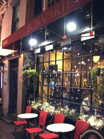 Cafe Bonaparte in Georgetown, Washington DC
