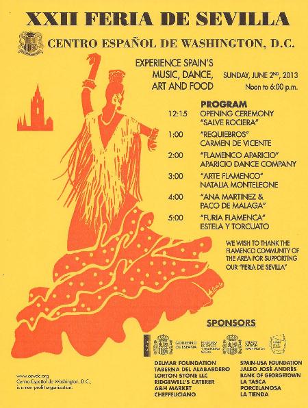 DC Feria de Sevilla flyer