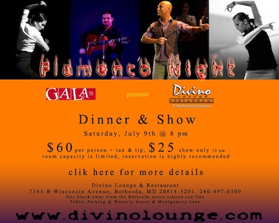 Flamenco Night at Divino Lounge