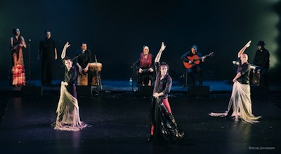 Edwin Aparicio's Flamenco Flamenca at Schwartz Center for the Arts in Dover, Delaware. Photo by Steve Johnson