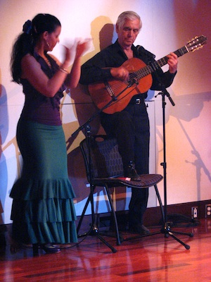 Estela and Torcuato in solo de guitarra por bulerias