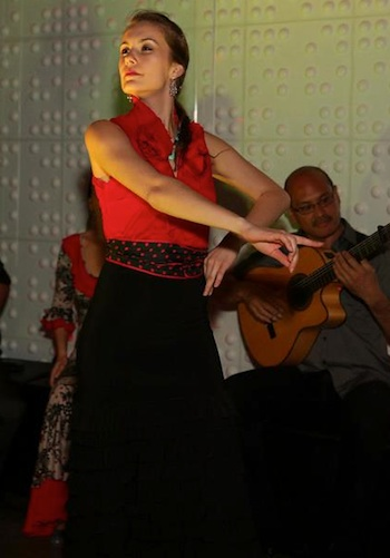 Flamenco dancer Sarah Louisa Castellanos