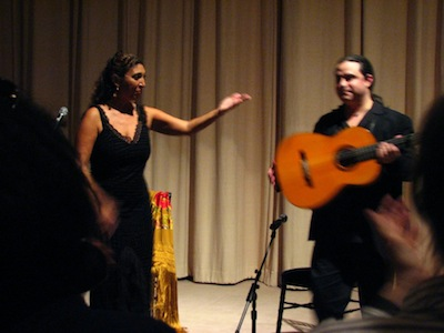 Esperanza Fernandez and Richard Marlow