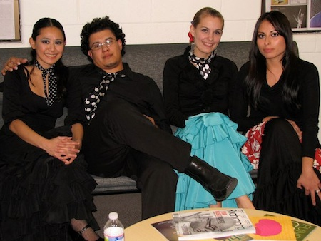 Chillin' in the Green Room: Pam de Ocampo, Hector Marquez, Sarah Hart and Ginette